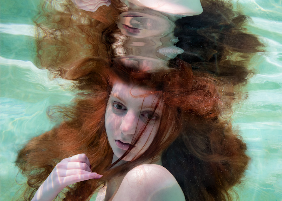 Ali Underwater Portrait Photography Art | Dan Katz, Inc.