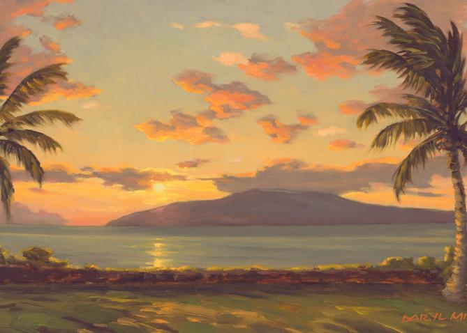 Launiupoko Sunset by Daryl Millard