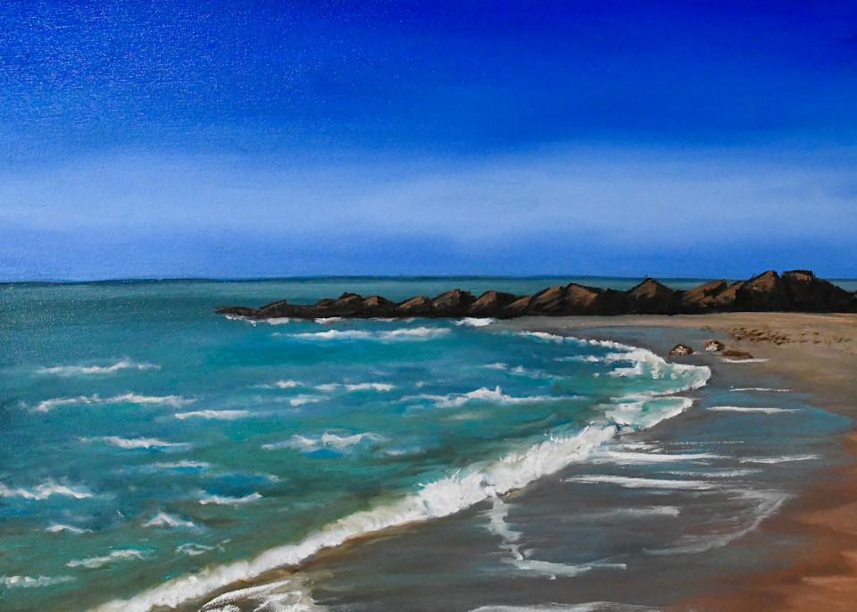 San Leone Beach Art | Drivdahl Creations