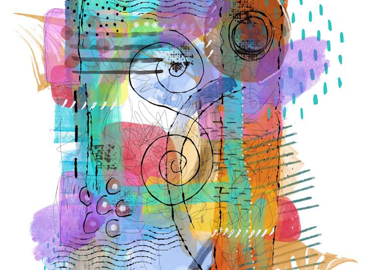 Spring Abstract 1 Art   Lynne Medsker Art & Photography, LLC