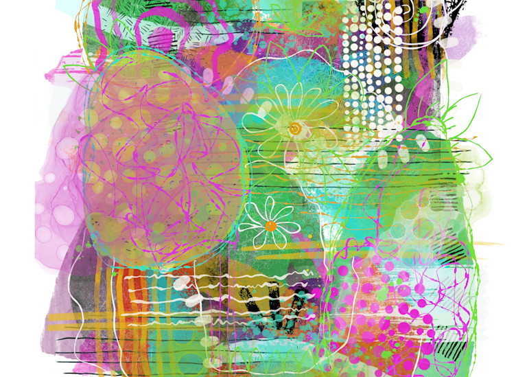 Spring Abstract 2 Art | Lynne Medsker Art & Photography, LLC