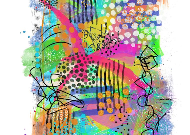 Spring Abstract 3 Art | Lynne Medsker Art & Photography, LLC