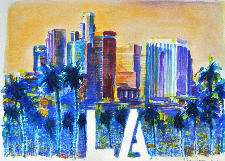 Los Angeles Art | DBA George Delany Art