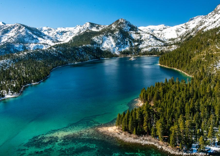 Emerald Bay Beauty Photography Art   Great Wildlife Photos, LLC