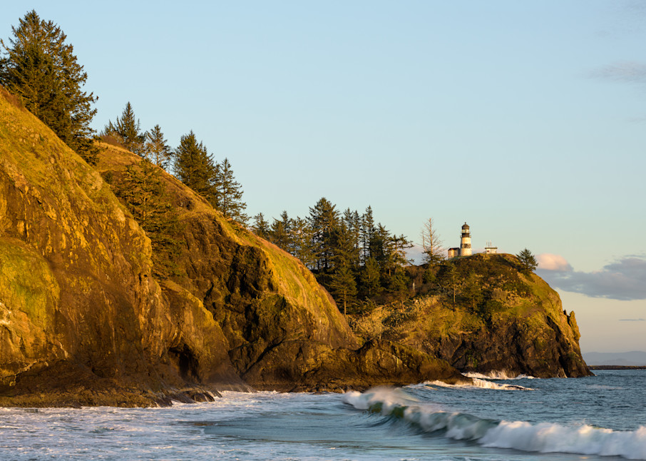 Late Winter Evening, Cape Disappointment Lighthouse, Washington, 2021