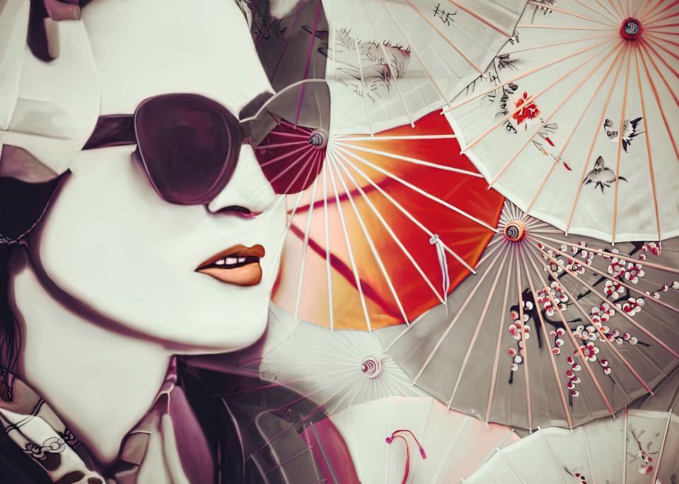 China Girl No. 1, 2020 by artist Carolyn A. Beegan