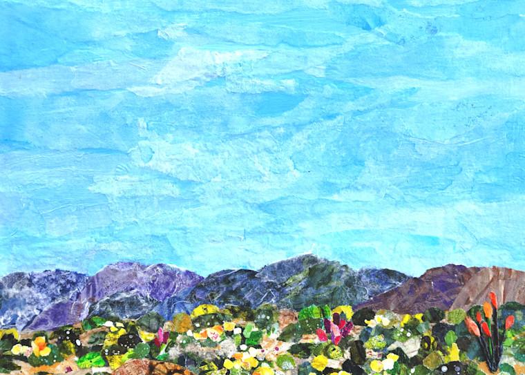 Spring In Anza Borrego Desert Park Art   Poppyfish Studio