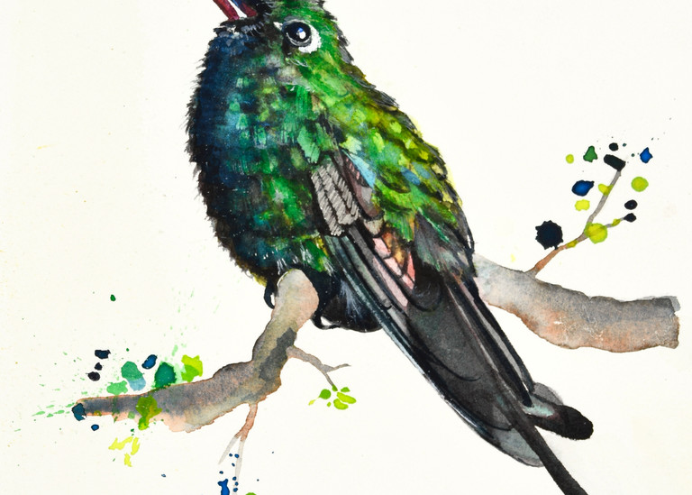 The Young Emerald Art | Katherine Rodgers Fine Art
