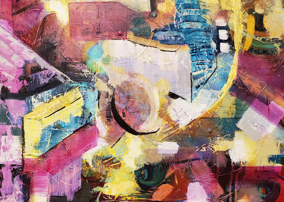 Evening In The City 2 Art | Authentic Soul Studio