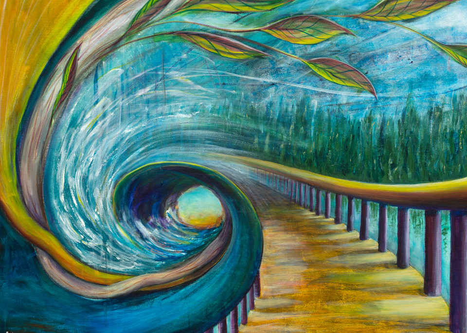 The Path Print Art | Limor Dekel Fine Art