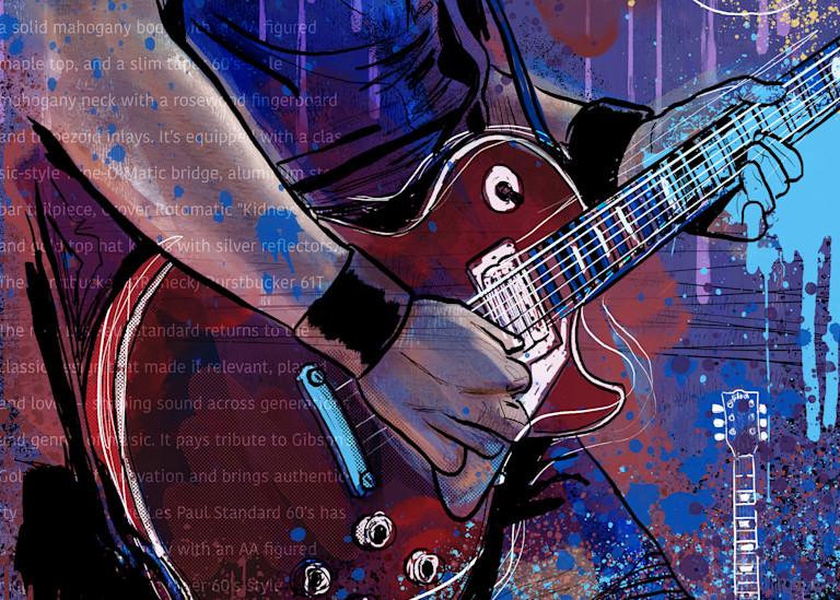 the les paul gibson guitarist