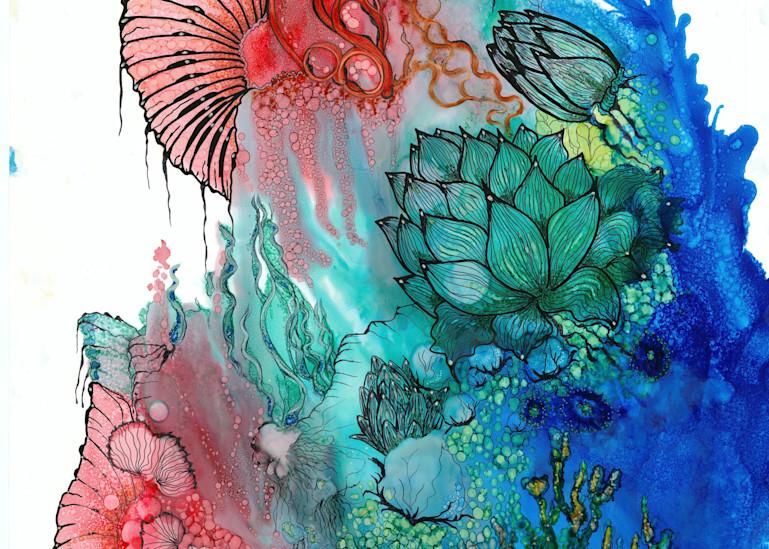 Aquamarine Hd Art | Art With Judy Ann