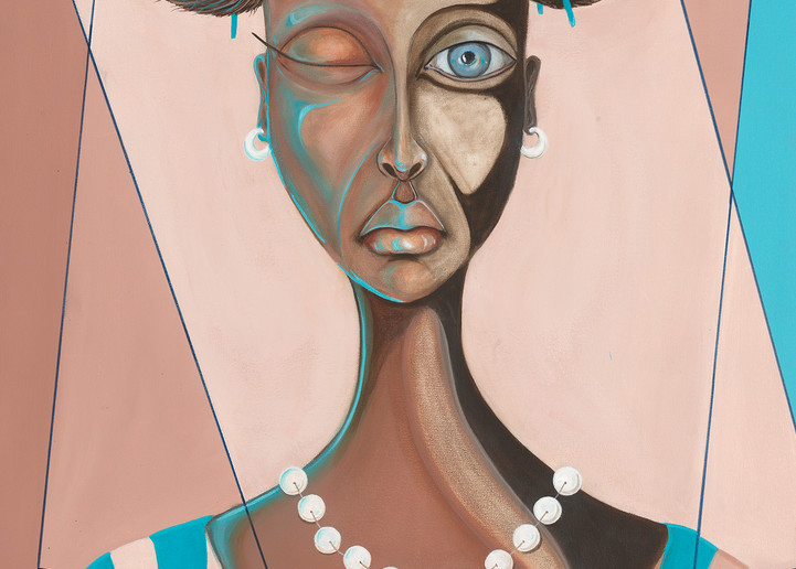 Serious Sister  58 Art   BlackRock Medium LLC.