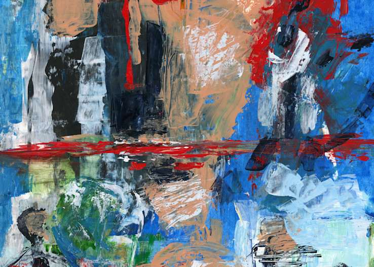 Abstract Painting by Marsha Gray Carrington