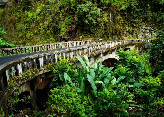 Bridge To Hana Photography Art | Douglas Hoffman Photography