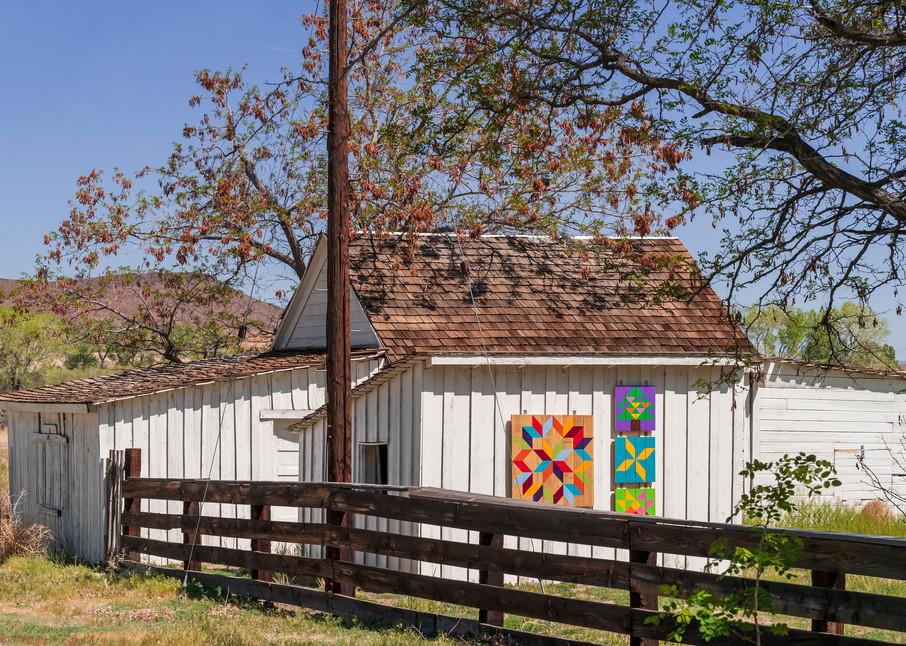 Buckland Station Barn With Pennsylvania Dutch Symbols Photography Art   Great Wildlife Photos, LLC