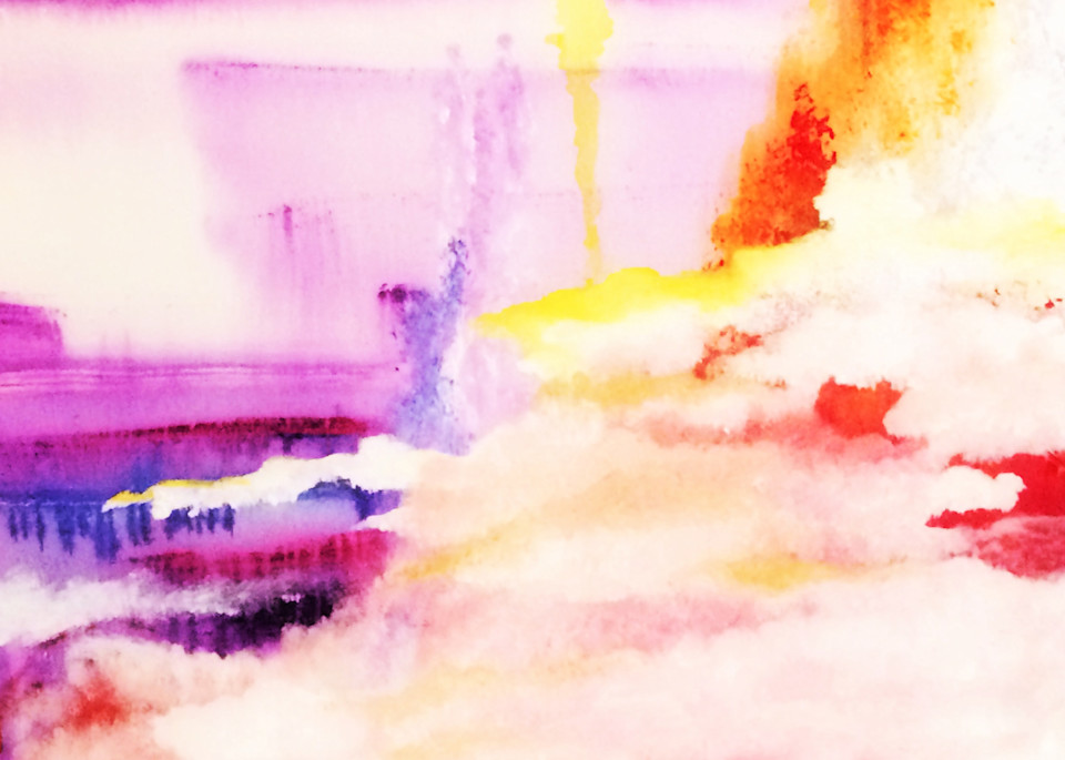 Cloud By Day, Print  (Prices Are In Usd) Art | Anne Reid Artist