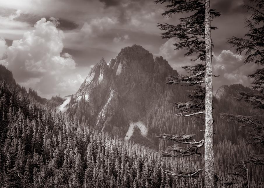 Art Print of Across the Valley