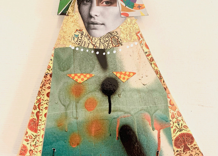 Anastasia Art | L BaLoMbiNi / red paint studio
