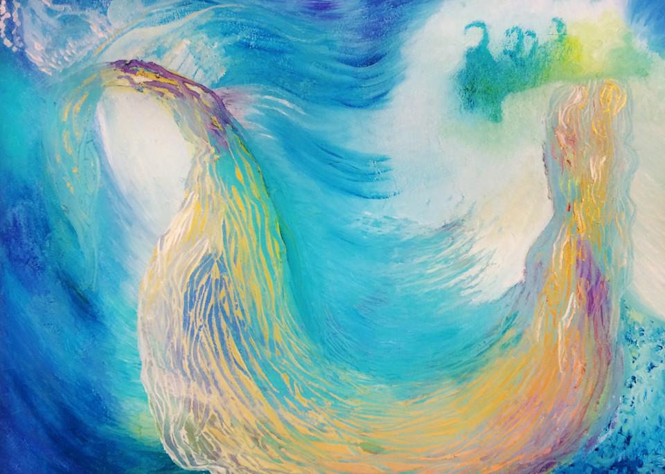 Glory Stream, Print Art | Anne Reid Artist