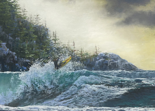 Northern Surf 1 Art | Kurt A. Weiser Fine Art