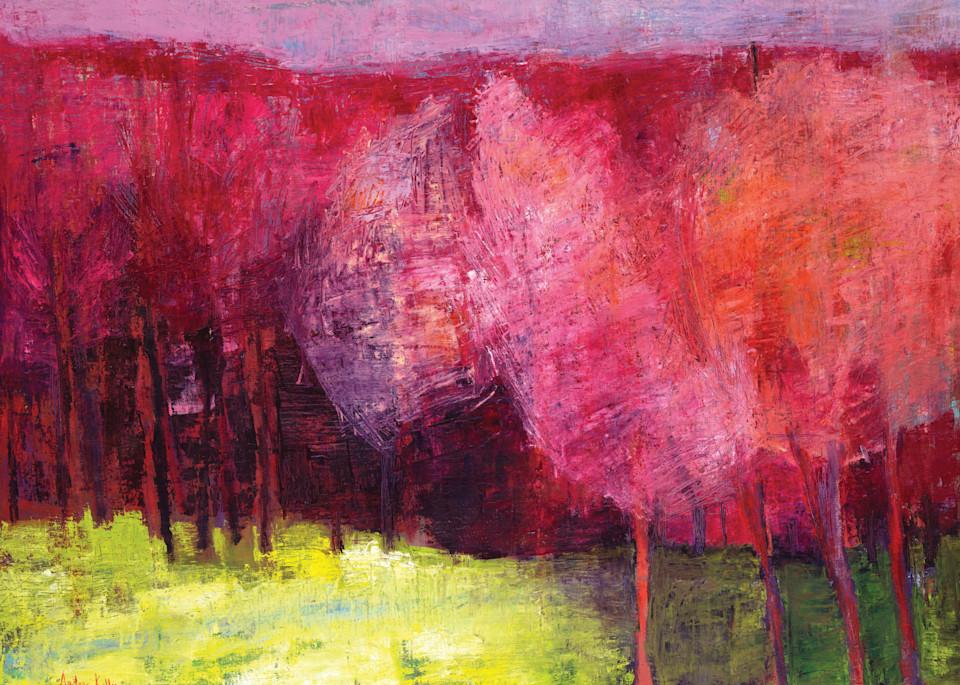 Red Woods Art | Andrea kelly Fine Arts