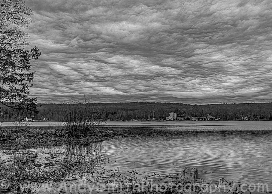 Storm Clouds Across the Lake