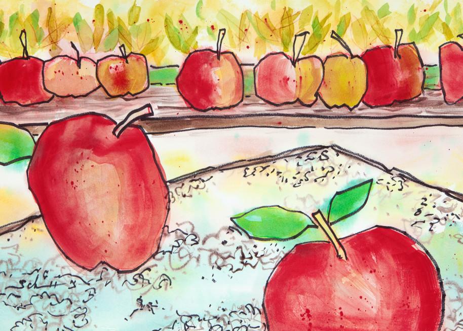 Apples Art | Elaine Schaefer Hudson Art
