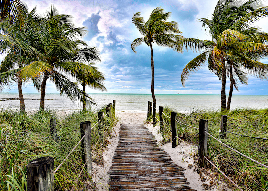 Key West Beach Walk Art | Frasier Photography