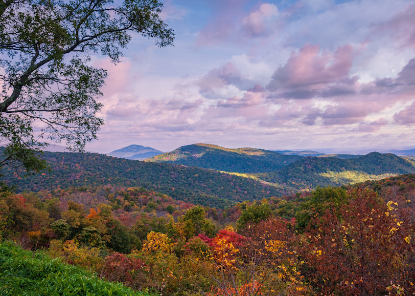Early Fall in the Shenandoah Mountains