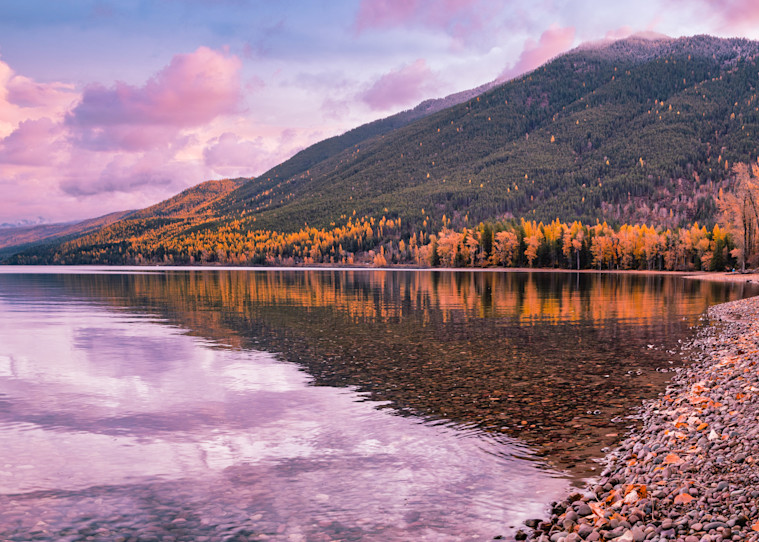 Lake McDonald in October