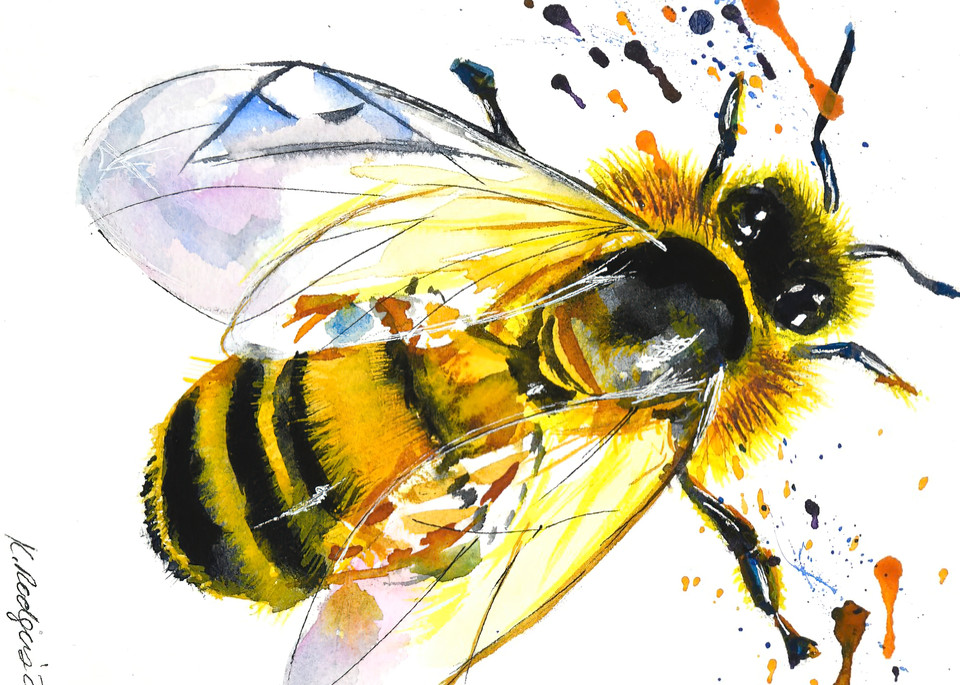 The Buzz. Art | Katherine Rodgers Fine Art
