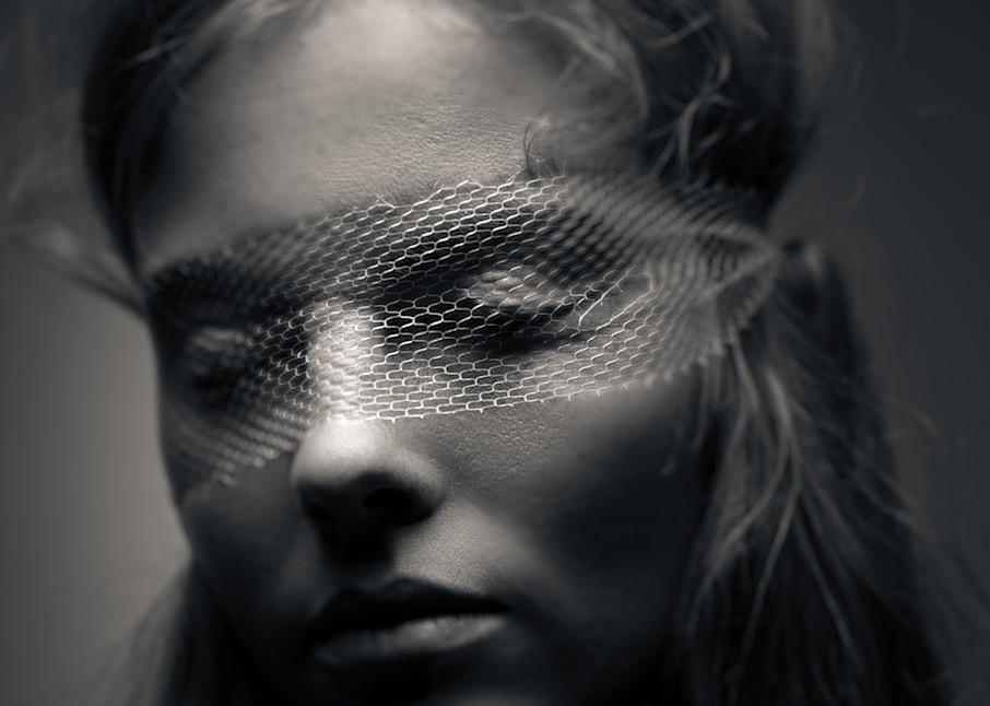 Netted Mask Photography Art | Dan Katz, Inc.