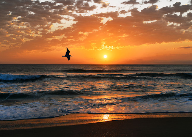 St. Augustine Beach Sunrise Art | Frasier Photography