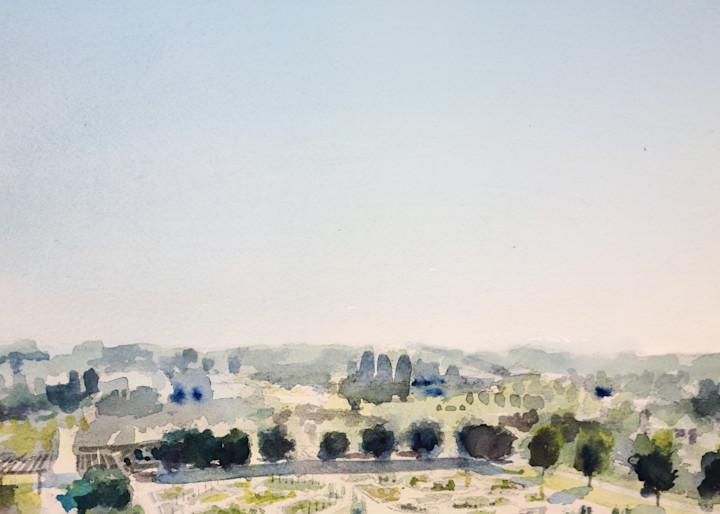 Kc Powell Gardens 3 Aerial Art | Steven Dragan Fine Art