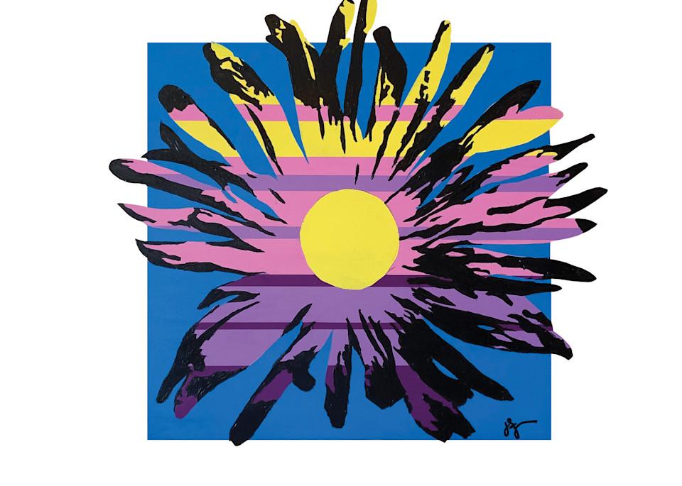 Sunny Daisy #2, Print Art | Jon Savage Contemporary Art