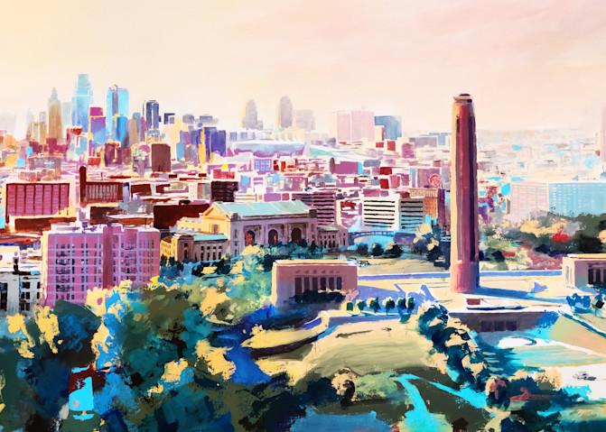 Kc Skyline 3 Reduced Art | Steven Dragan Fine Art