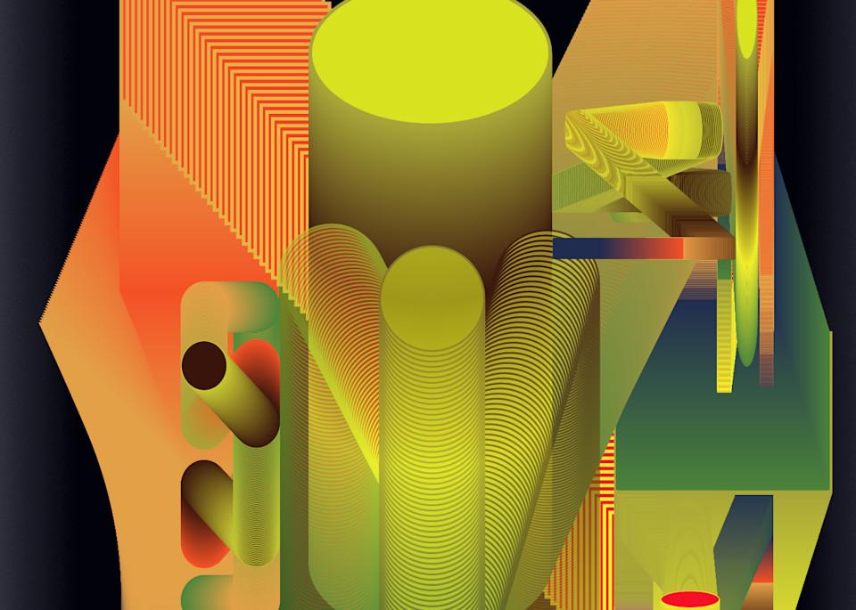 Caroline Geys | Spaceship Control | Digital Art