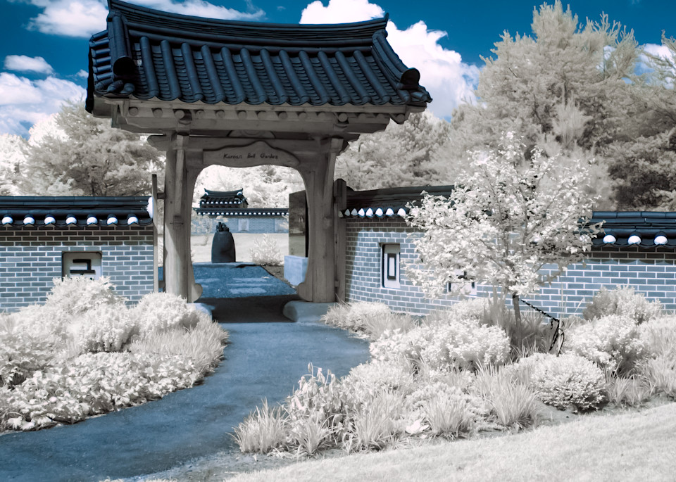 Japenese Garden in Infrared