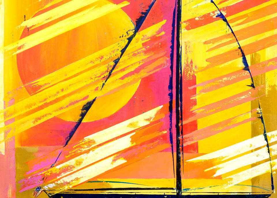 Windy Sail Art   benbonart