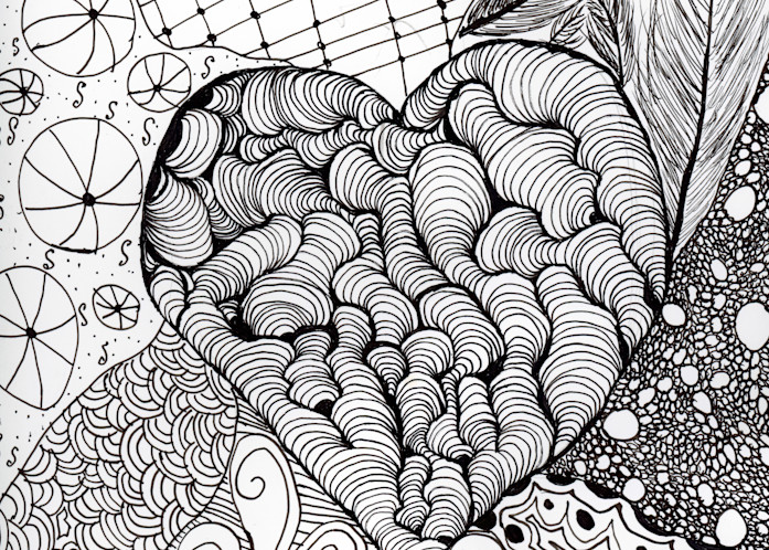 Organic Lines Art | Thriving Creatively Productions
