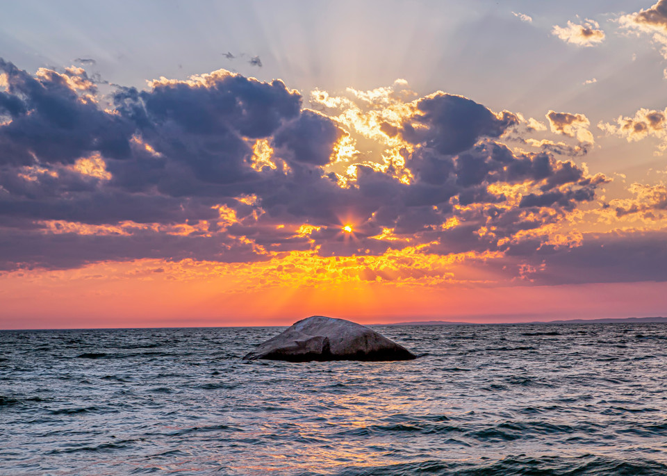 Great Rock Bight Sun Beams Art | Michael Blanchard Inspirational Photography - Crossroads Gallery