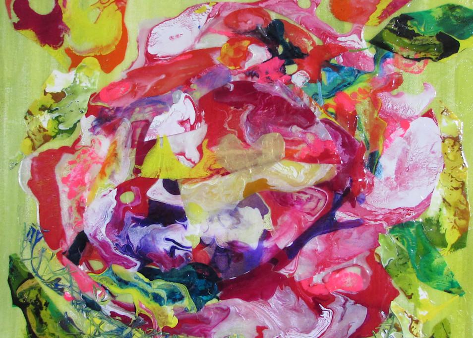 Heart Of A Rose Art   Linda Sacketti