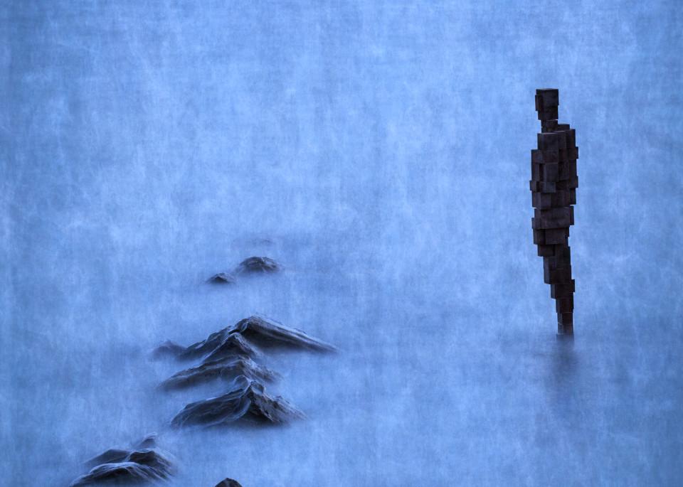 Gormley Sculpture Art | Roy Fraser Photographer