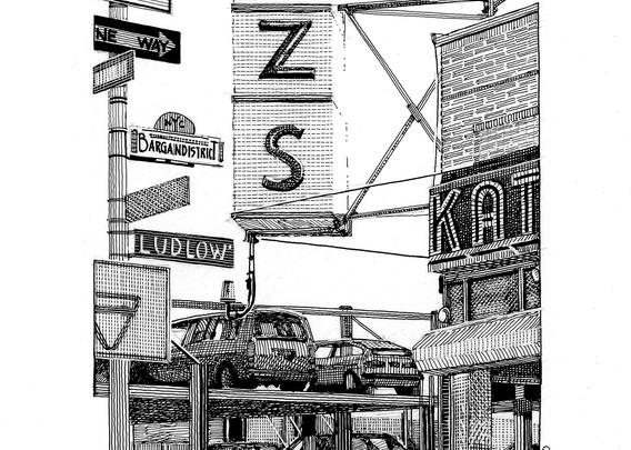 Katz Deli Art   Andre Junget Illustration LLC