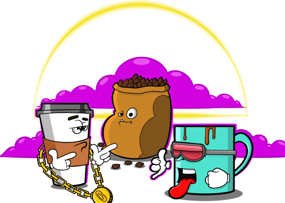 Morning Brew Art   Art by Nabes