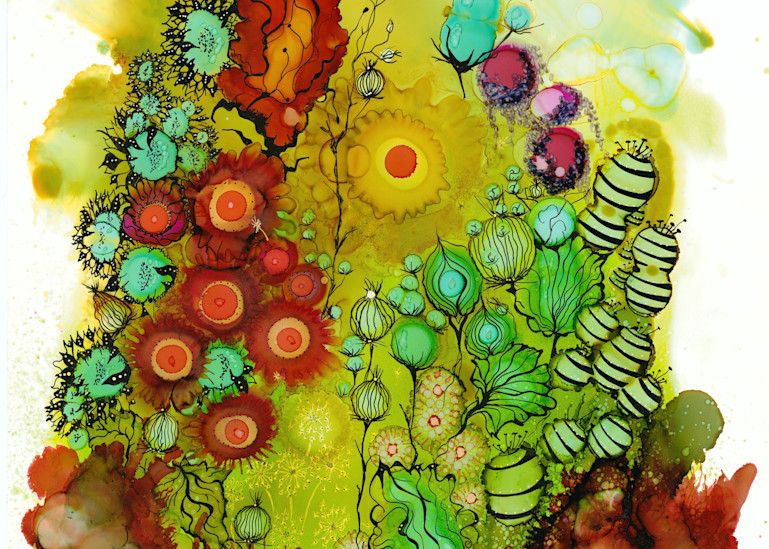 Punch Of Color Hd Art   Art With Judy Ann