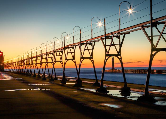 South Haven Lighthouse Photography Art | Ursula Hoppe Photography