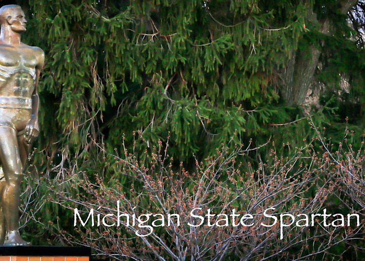 Sparty With Logo Photography Art | Ursula Hoppe Photography