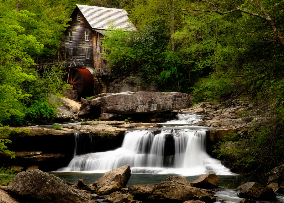 Glade Creek Grist Mill - West Virginia fine-art photography prints